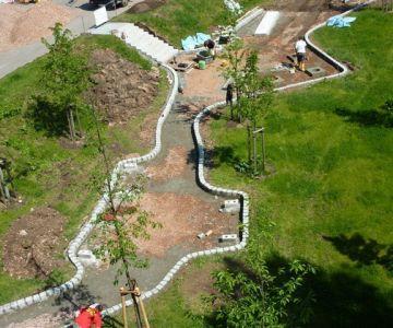 Neugestaltung Wenzel-Verner-Park in Chemnitz